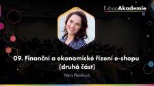 09 - Finanční a ekonomické řízení e-shopu (2. část)