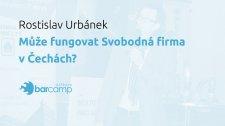 Může fungovat Svobodná firma v Čechách?